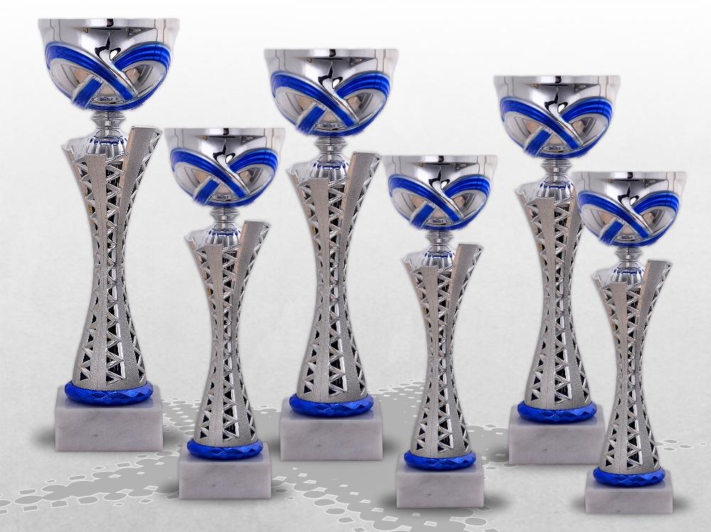 6er Pokalserie MONTANA BLUE ohne Deckel ab