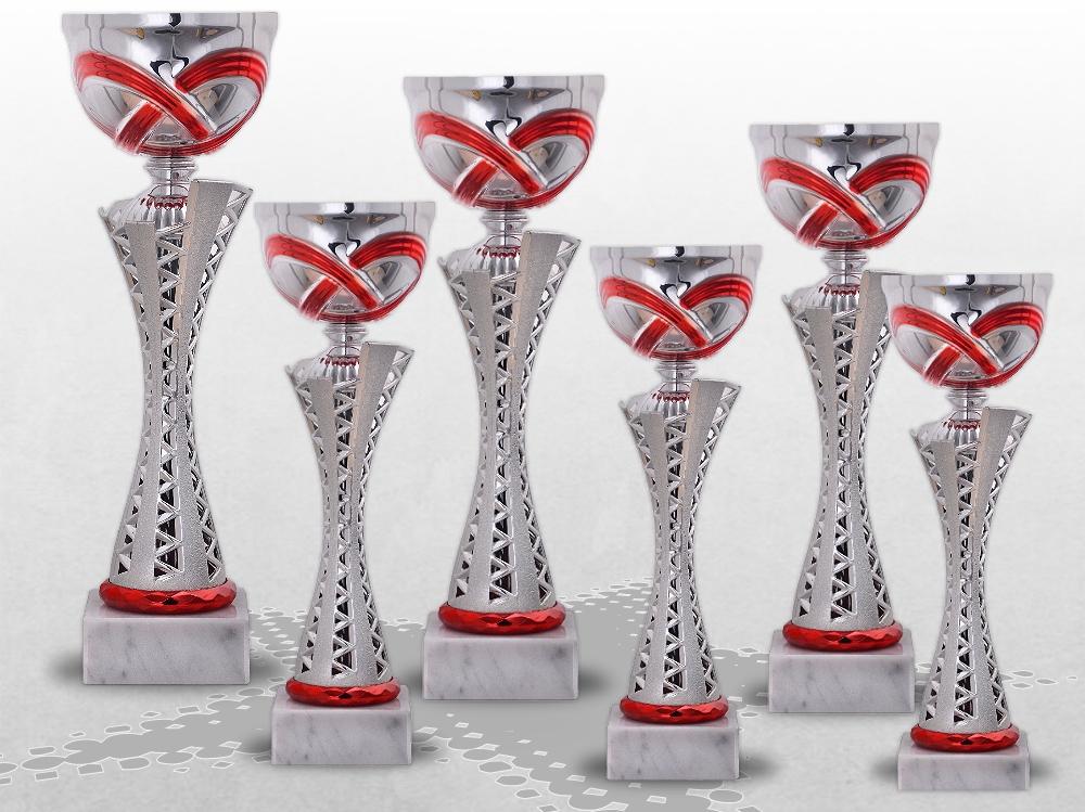 6er Pokalserie MONTANA RED ohne Deckel ab