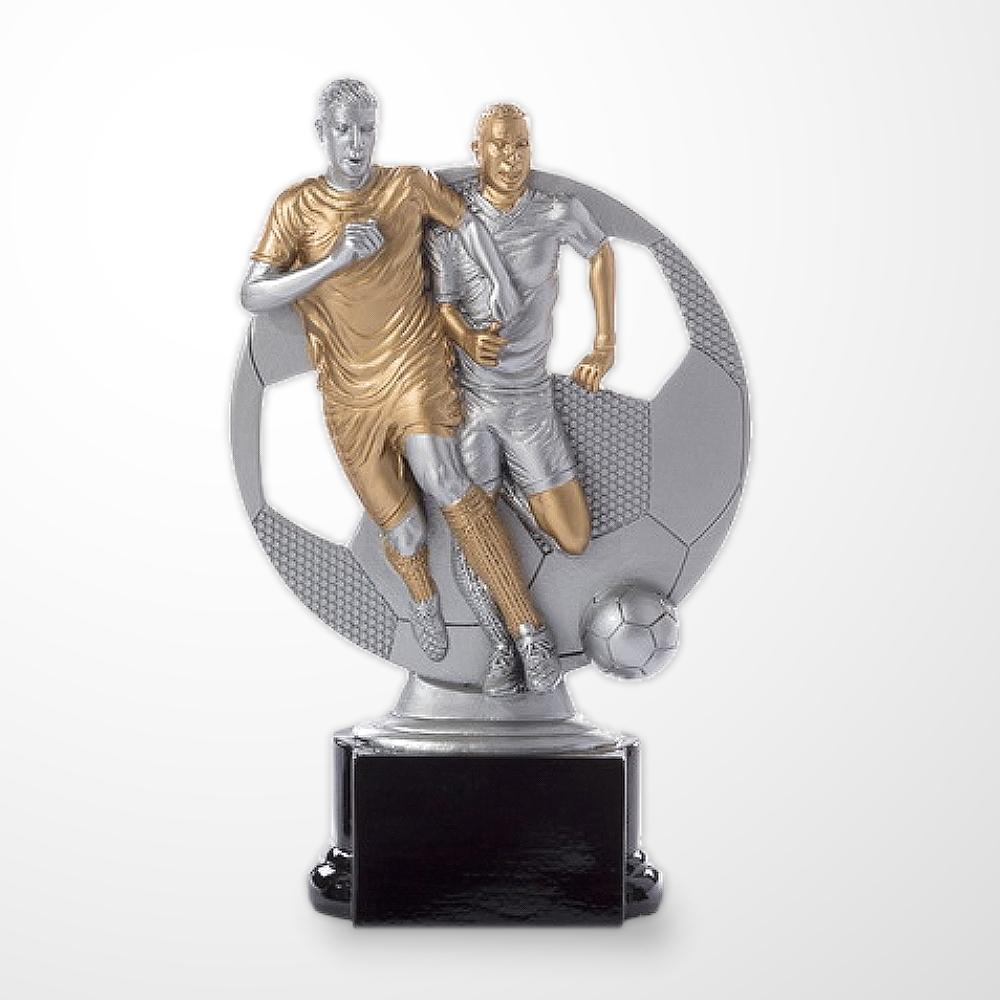 3er FUSSBALL Pokalserie Figur PLAYER ab 16cm