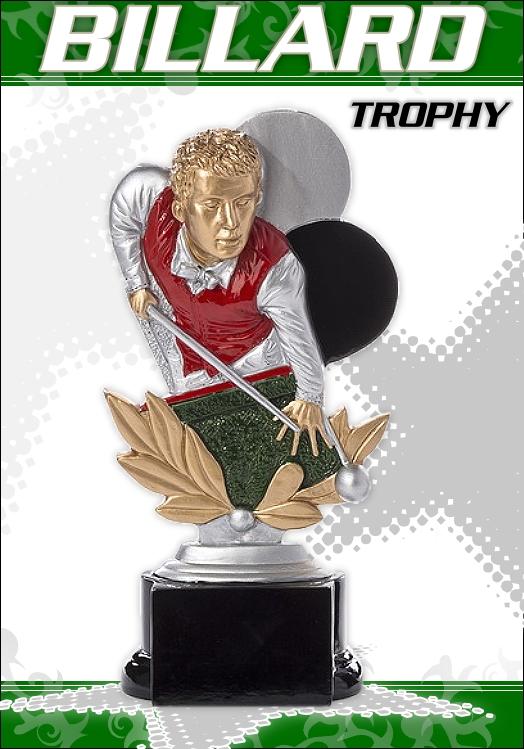 Billard Pokale Figuren RESIN ab 16cm