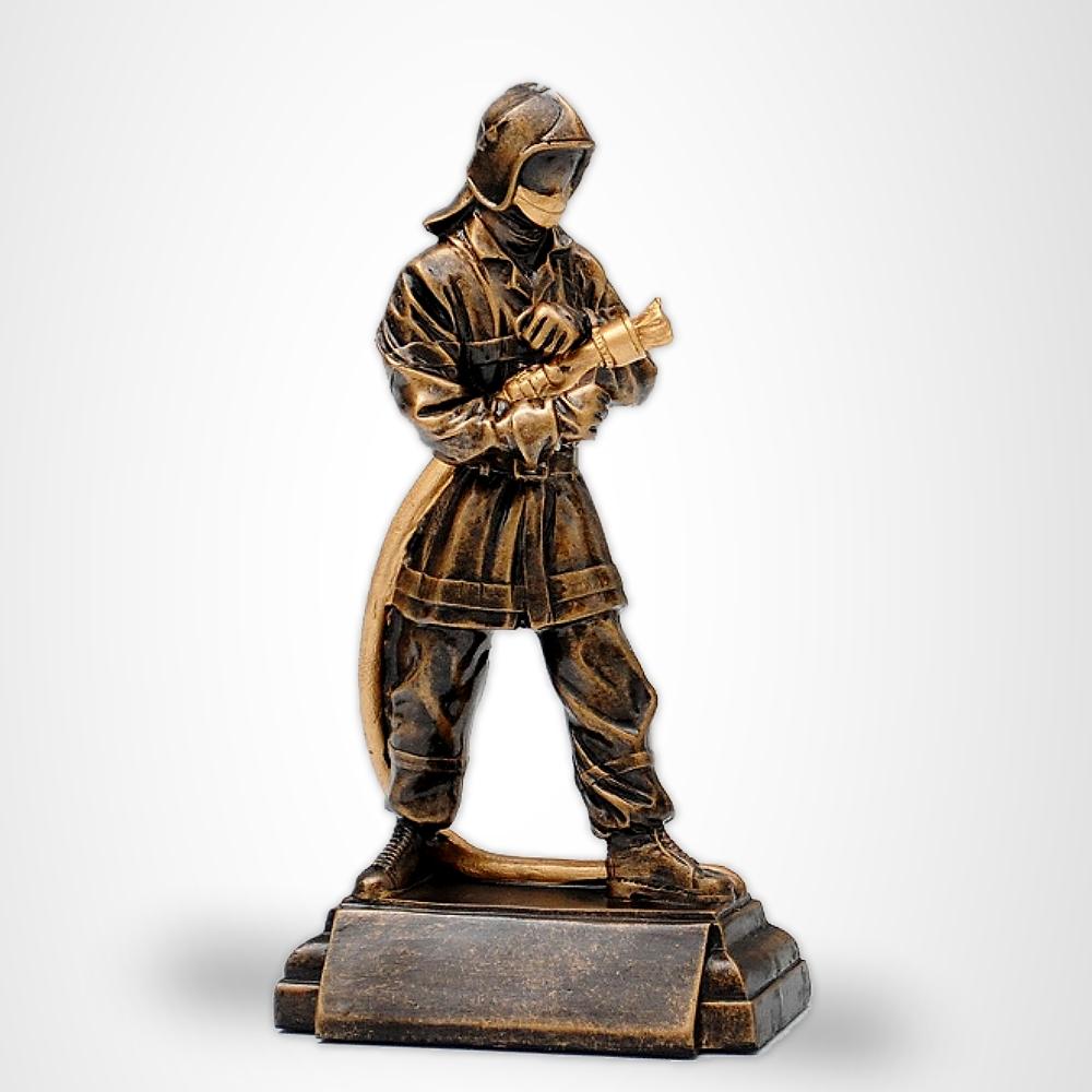 Feuerwehr Pokal Figur FIREMAN 24cm