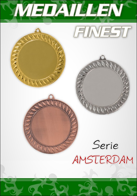 1 Medaillen AMSTERDAM PREMIUM 7 cm