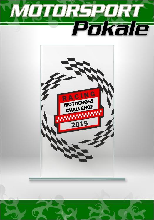 Glaspokale Motorsport Motocross Racing Kart Pokale M65
