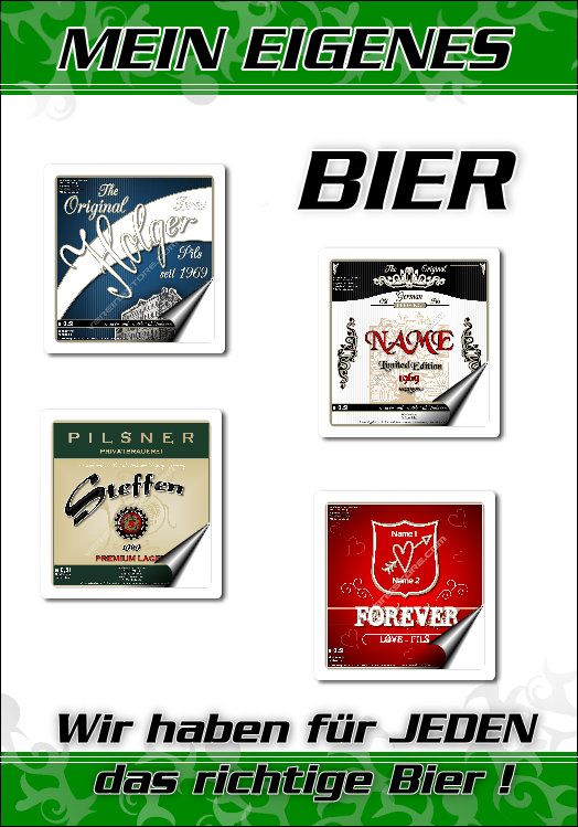 :: Mein eigenes Bier - Geburtstagsgeschenk