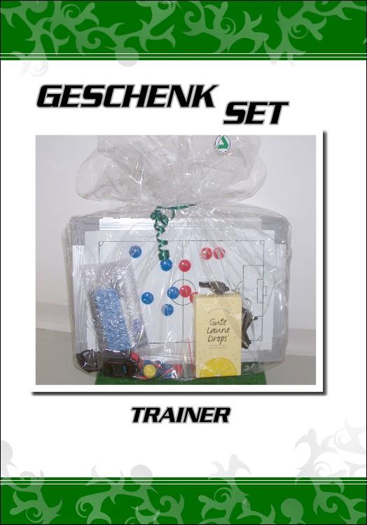 geschenk fußballtrainer