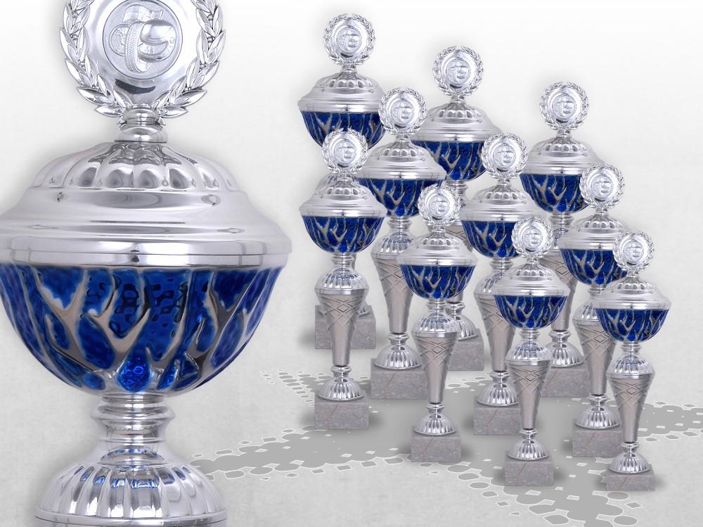 10er Pokalserie BLUE STARLIGHT ab 27cm