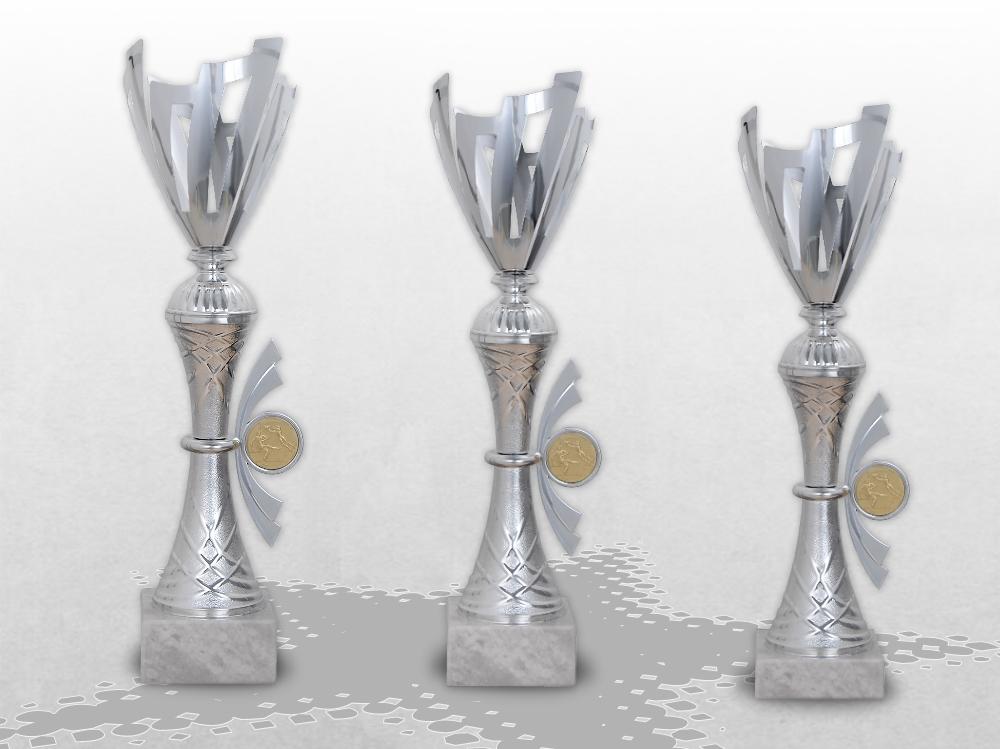 3er Pokalserie EVEREST große Pokale XXXL mit Gravur Pokale günstig kaufen