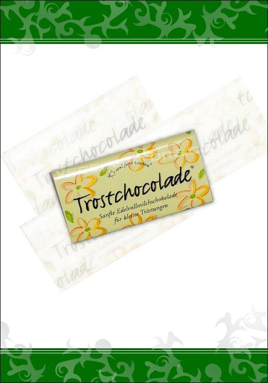 Trost Schokolade Geschenk