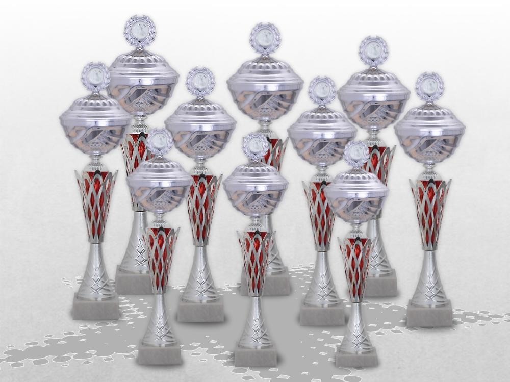 10er Pokalserie NOBEL XL mit Gravur