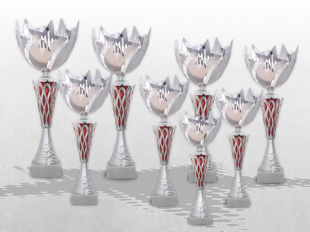 - Pokale Nobel STAR in 8 verschiedenen Größen ab 32cm