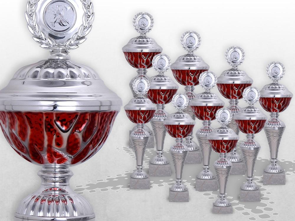 10er Pokalserie RED STARLIGHT ab 27cm