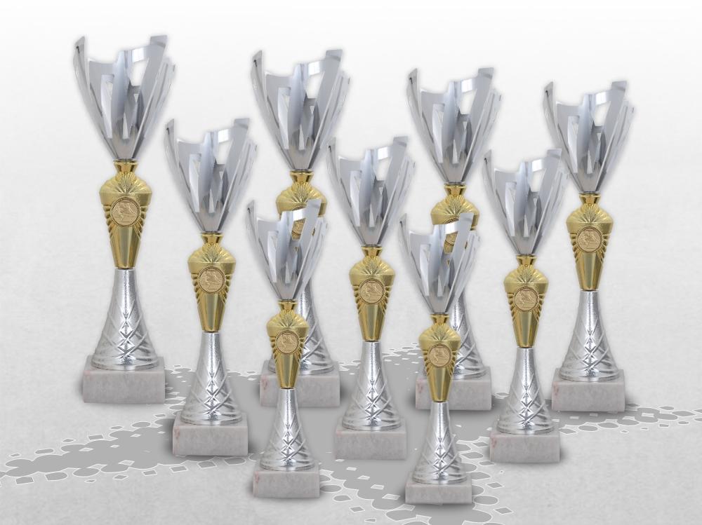 9er Pokalserie Pokale ROYAL mit Gravur