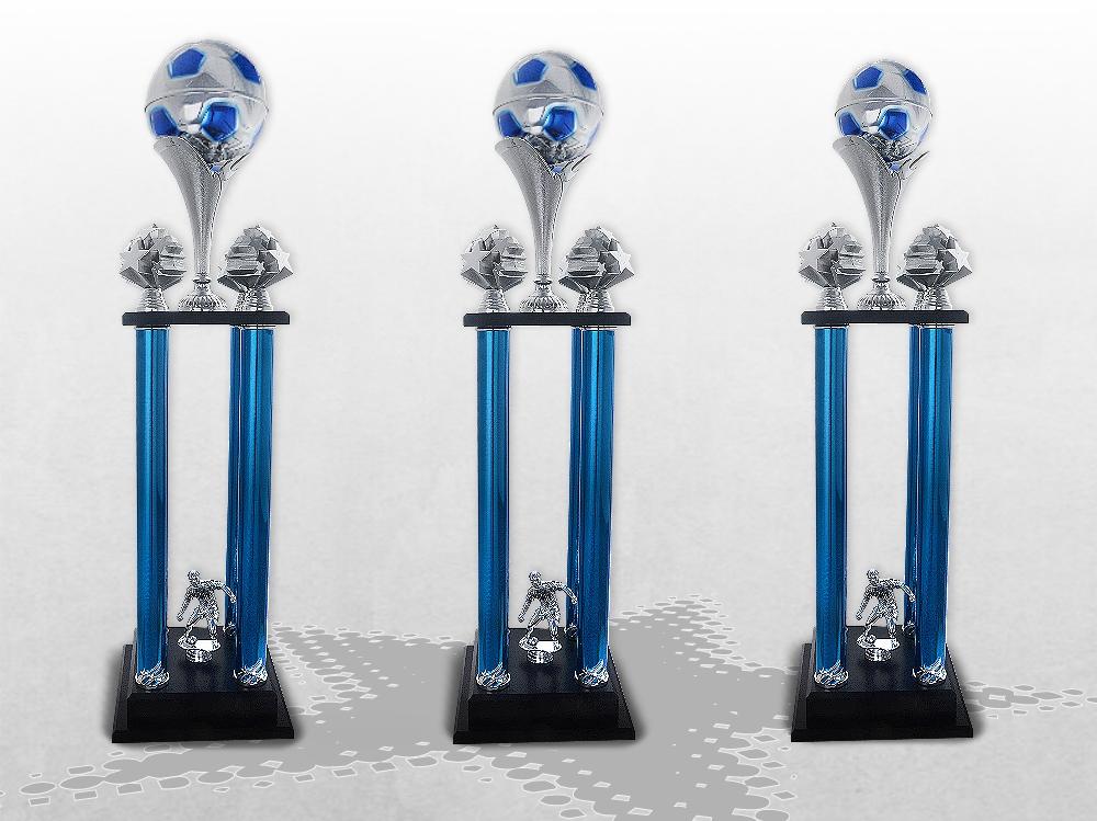 Fussball Säulenpokal im XXL Format ab  84cm