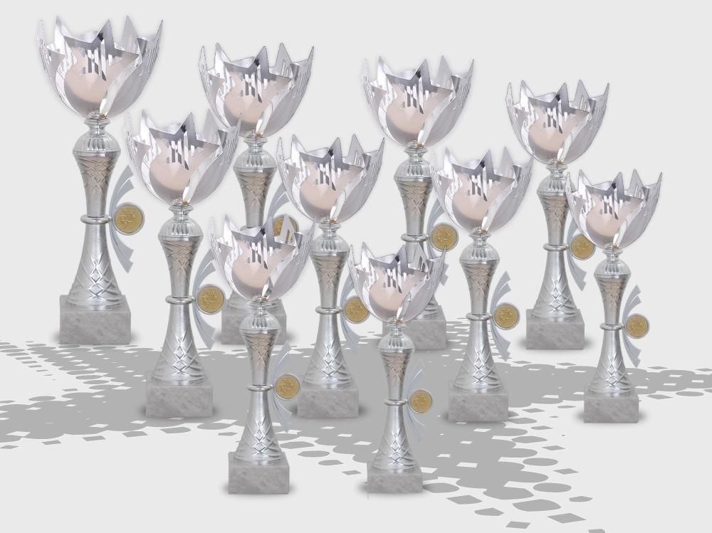 - Pokale SKYLON STAR in 10 verschiedenen Größen ab 27cm