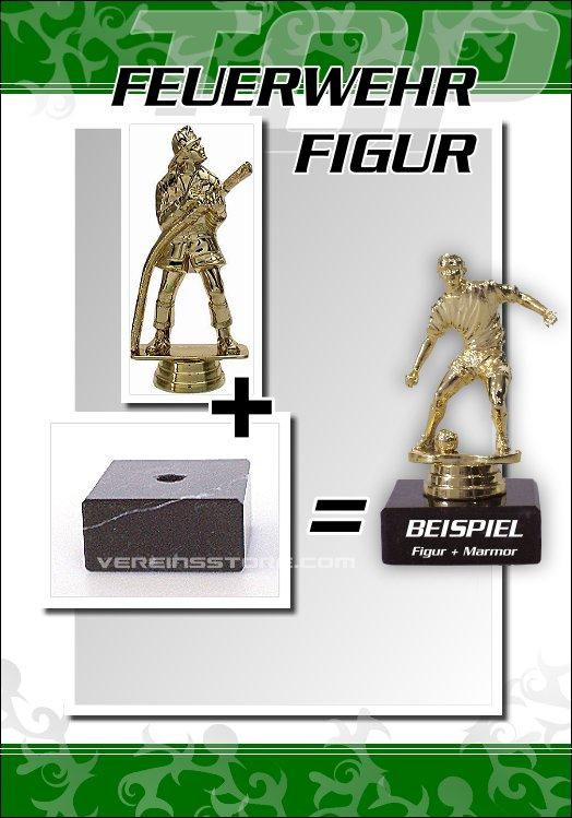 Pokale - Figur Feuerwehr 15,5 cm