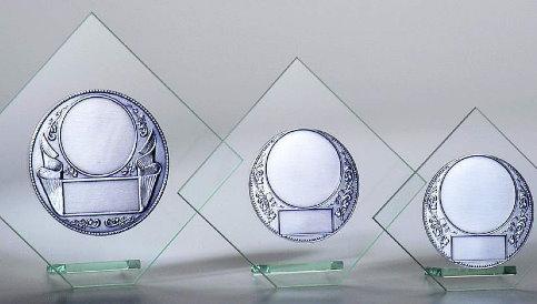 Pokale - Glaspokal Raute ab 12 cm