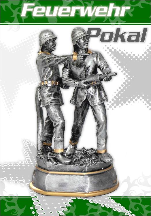 Pokale Resin Feuerwehr - Figur 20 cm
