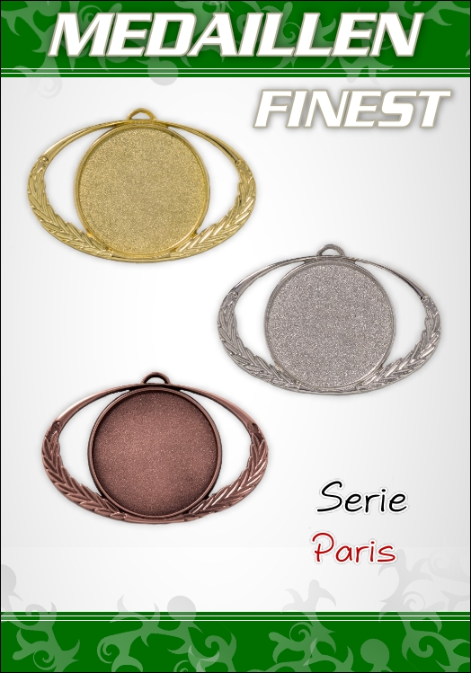 1 Medaillen PARIS PREMIUM  9 cm