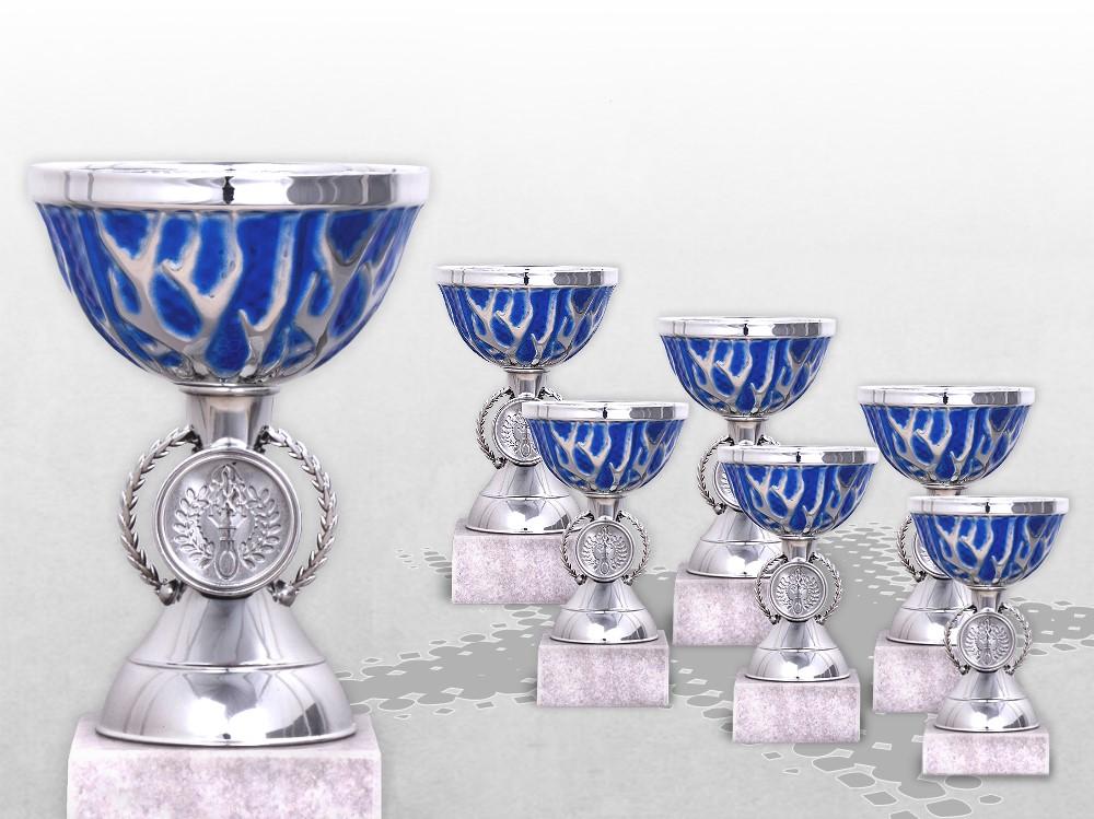 6er Pokalserie BLUE MINI THUNDER ab 13,5cm