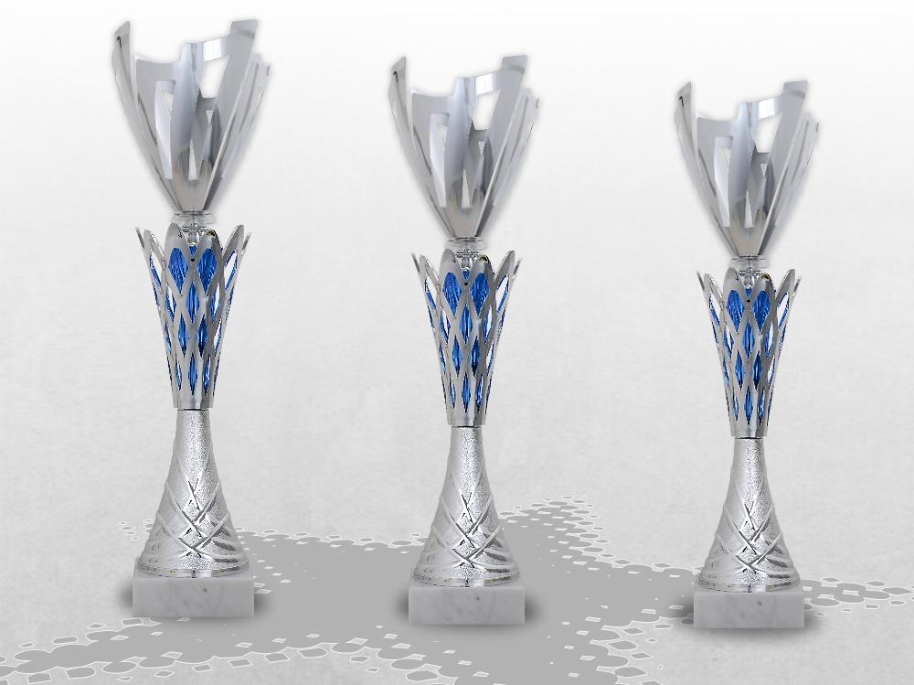 3er Pokalserie Pokale TRIBLE XXXL mit Gravur