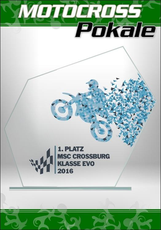 Glaspokale Motocross Motorsport Pokale ab 18cm M62