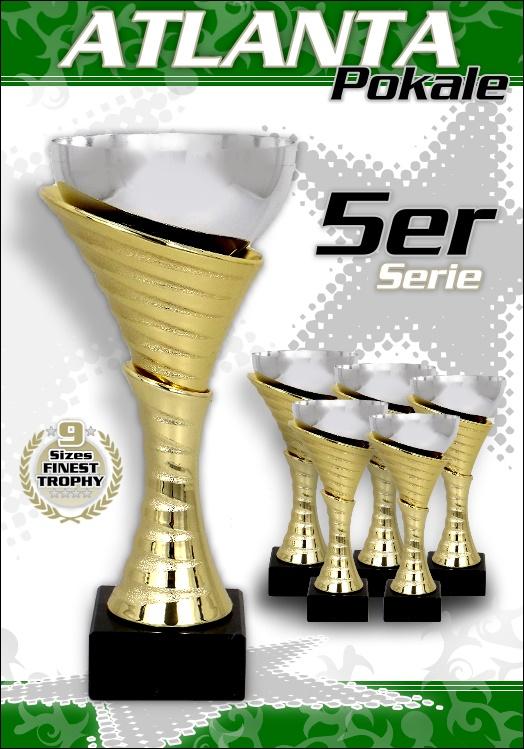 5er Pokalserie Pokale Atlanta ab 20,5cm