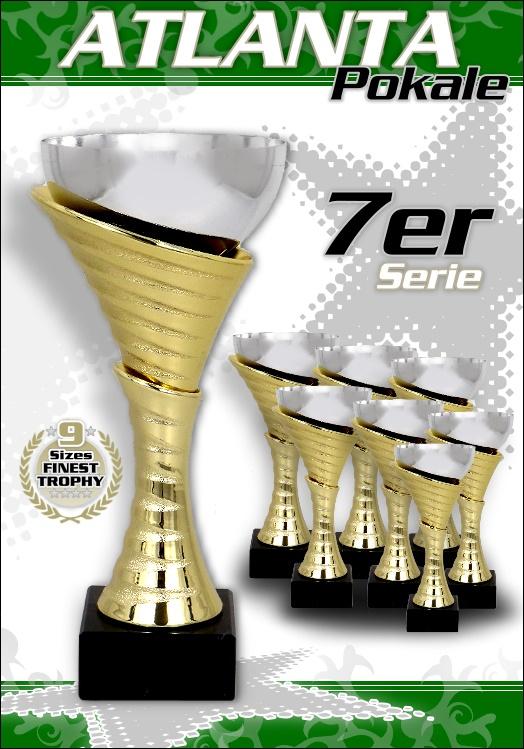 7er Pokalserie Pokale Atlanta ab 20,5cm