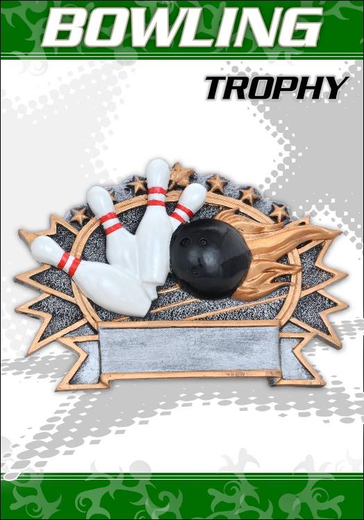 Bowling Pokale Plakette
