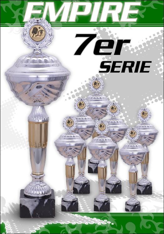 7er Pokalserie Pokale Empire ab 25,5 cm