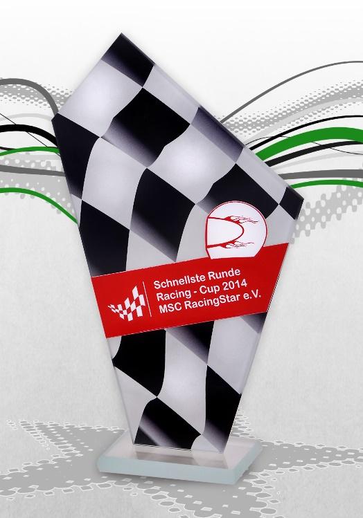 Glaspokale Motorsport GoKart Pokale Racing