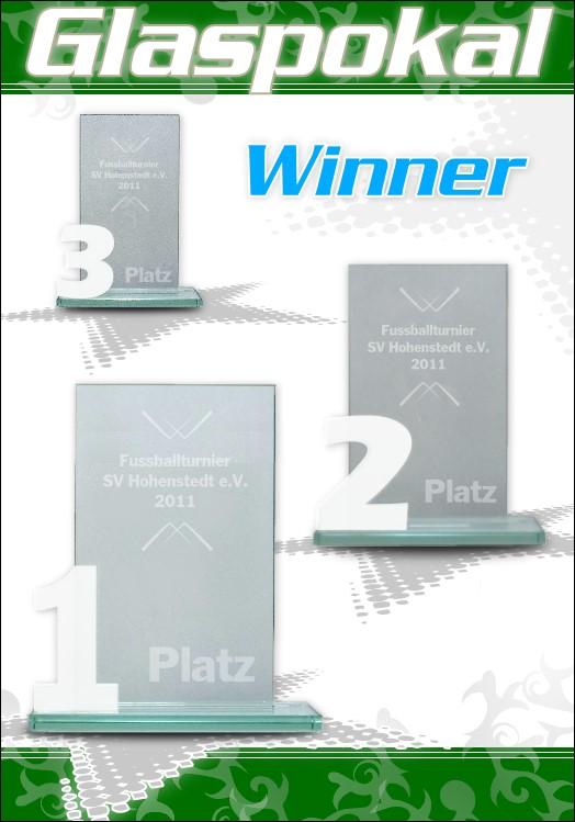 3er Glaspokal Serie WINNER