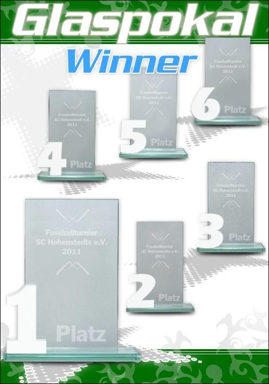 6er Glaspokal Serie WINNER