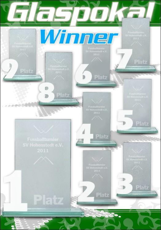 1er Glaspokal Serie WINNER