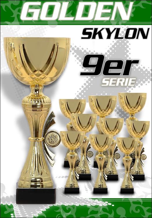 9er Pokale Golden Skylon