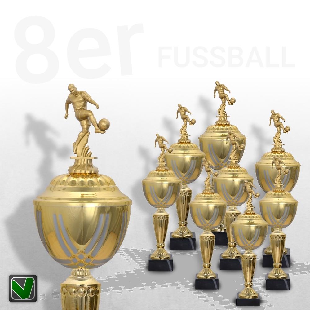 8er Fussball Pokalserie Pokale Prestige ab 31 cm