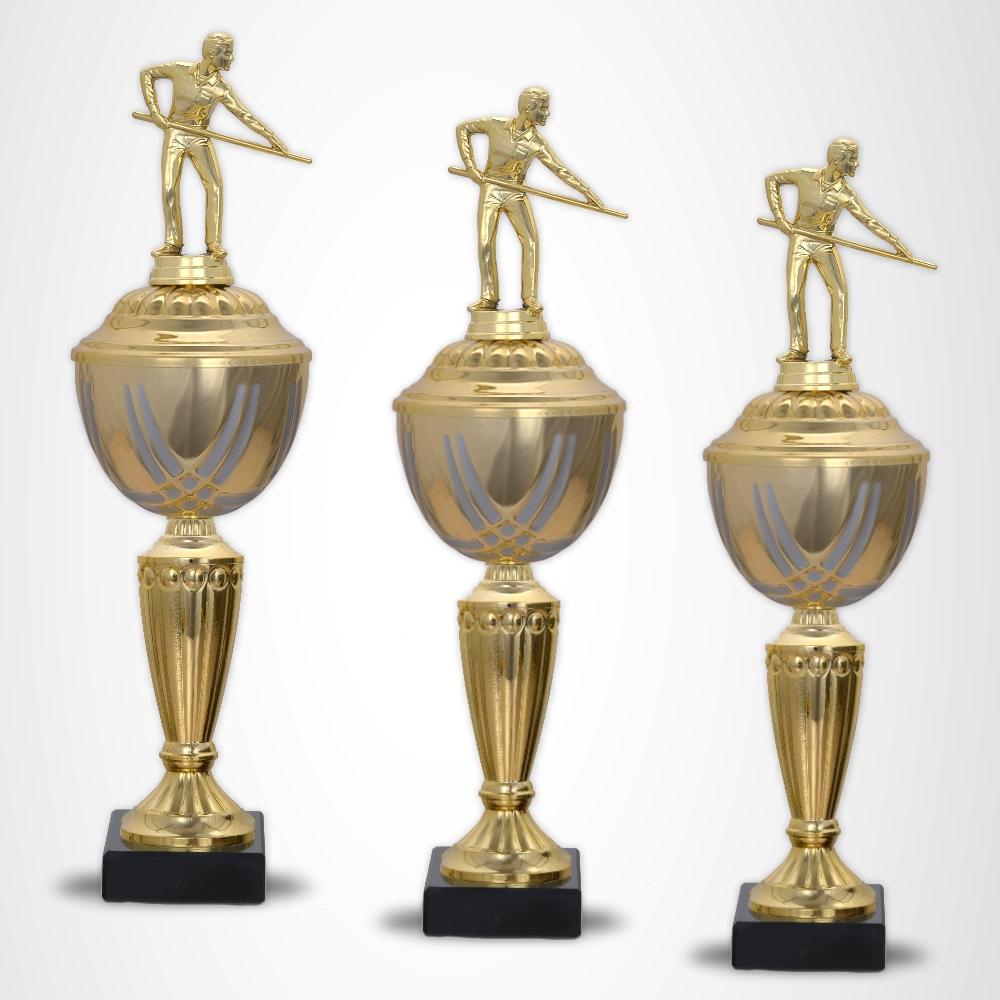 3er Billard Pokalserie Pokale Prestige ab 34,5 cm
