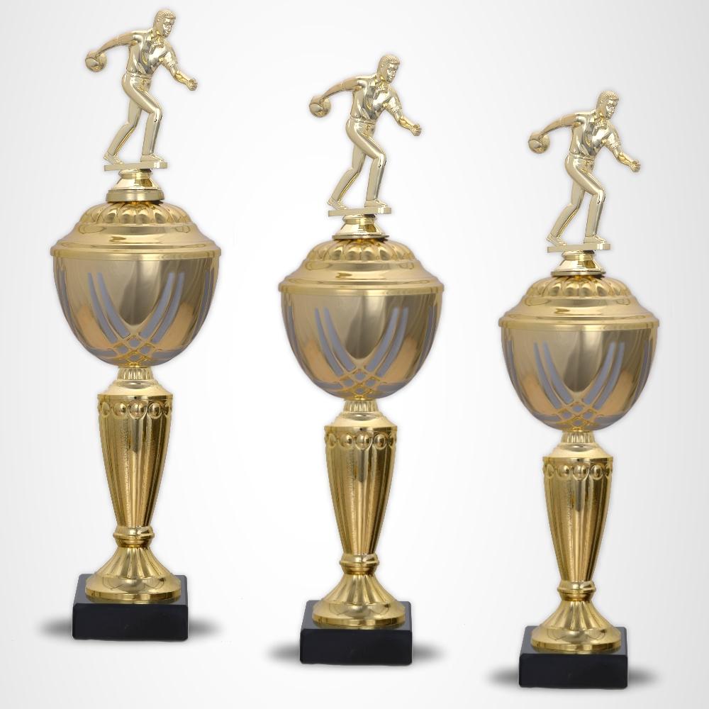 3er Bowling Pokalserie Pokale Prestige ab 37 cm