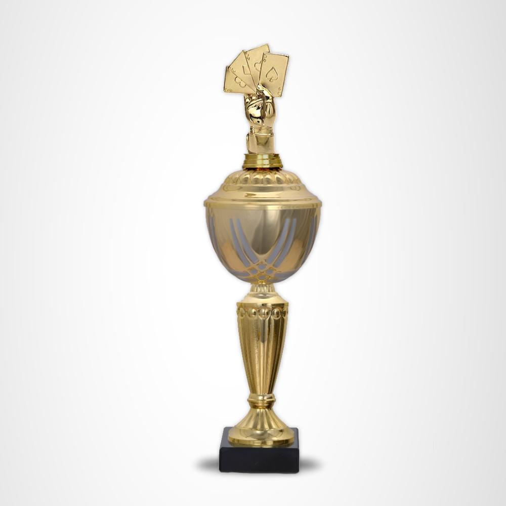Skat / Poker Pokale Prestige 33 cm
