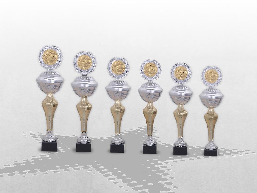 6er Pokalserie Pokale Madison ab 30 cm