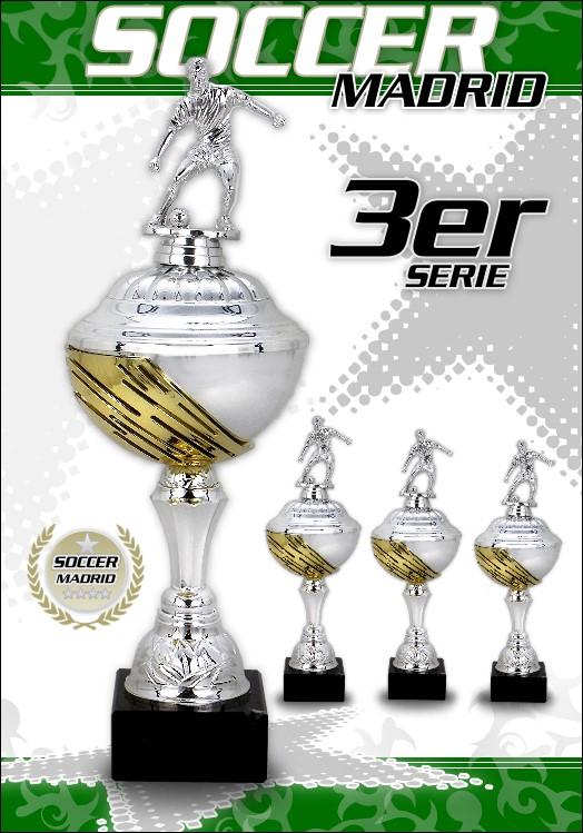 3er Fussball Pokalserie Madrid ab 29cm