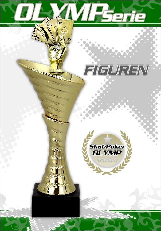 Pokale - OLYMP Skat / Poker ab 25cm