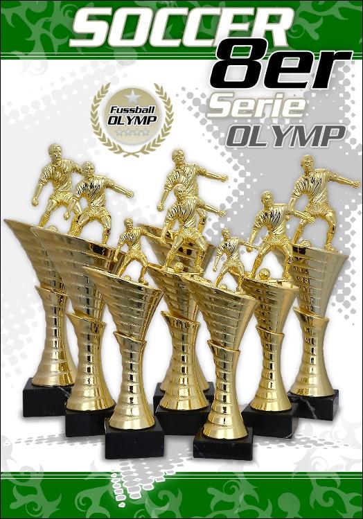 8er Fussball Pokale OLYMP