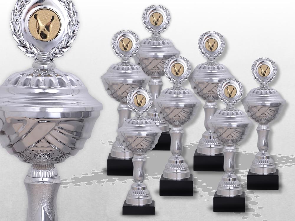 7er Pokalserie Pokale SilverLiberty ab 21 cm