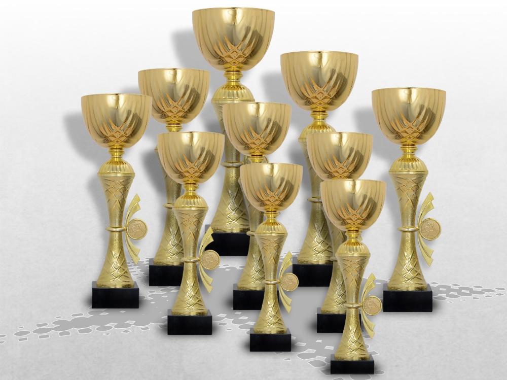 10er Pokale Golden Skylon