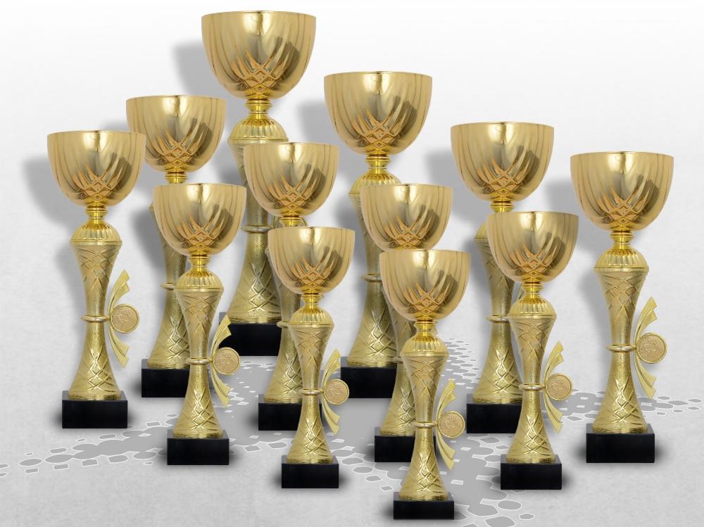 12er Pokale Golden Skylon