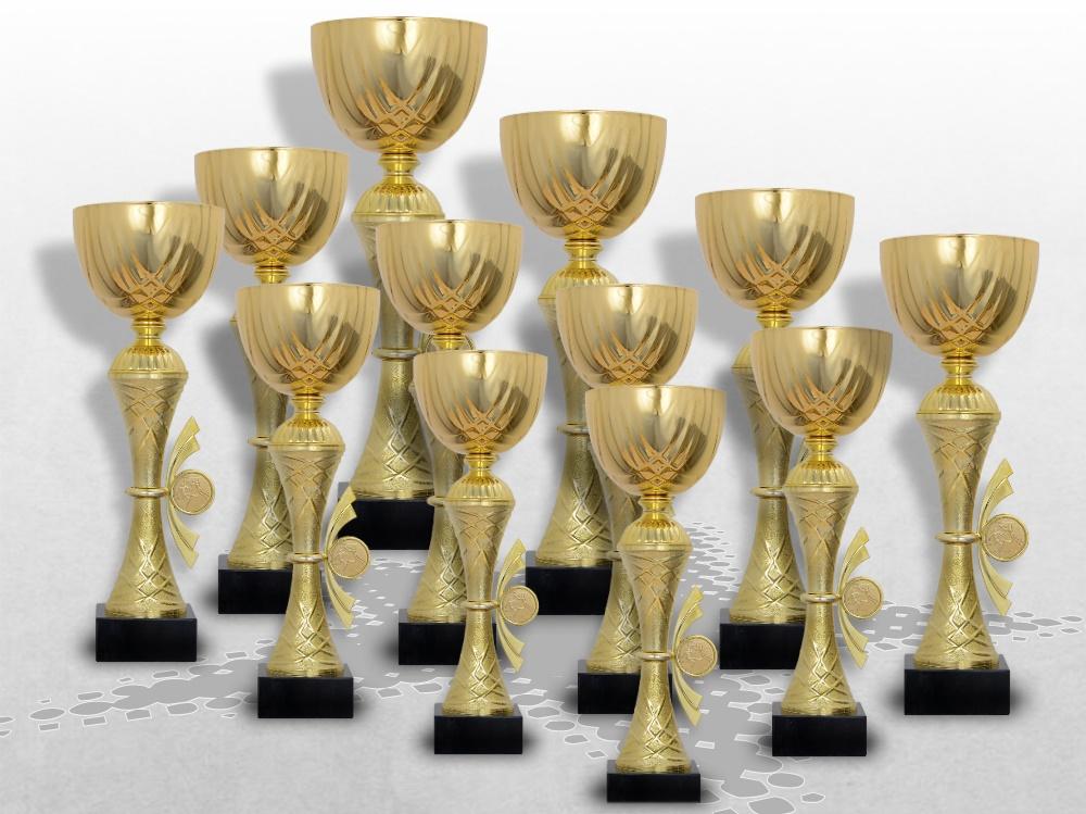 14er Pokalserie Golden Skylon mit Gravur