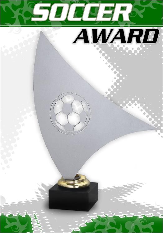 3er Fussball AWARD Pokale ab 27cm