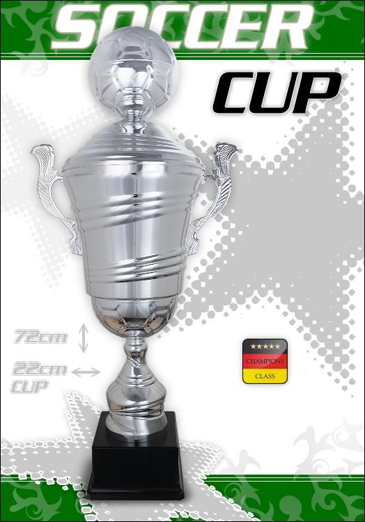 Fussball Wanderpokal Champion 72 cm