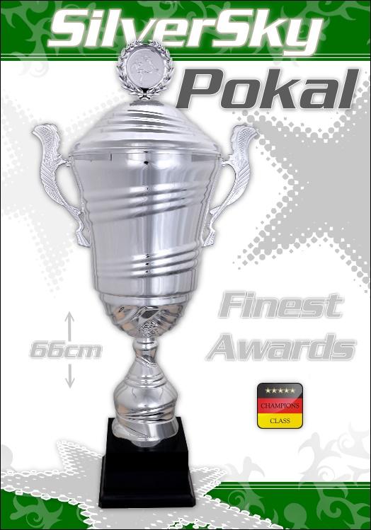 Pokale - Wanderpokal SilverSky 66 cm